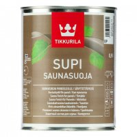Supi Saunasuoja колеруемый акрилатный защитный состав для бани 0,9л