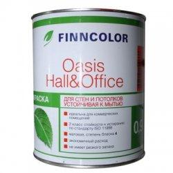 Водоэмульсия OASIS HALL@OFFICE А 4 краска устойчивая к мытью 0.9 л