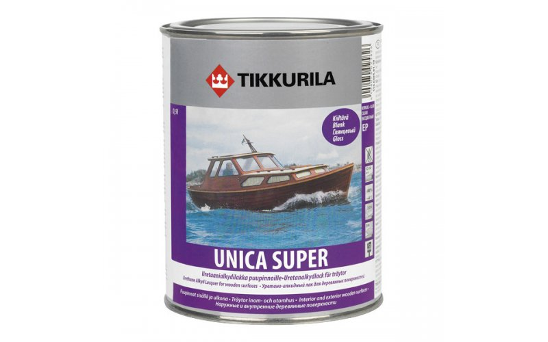 Unica Super лак глянцевый  0,9л