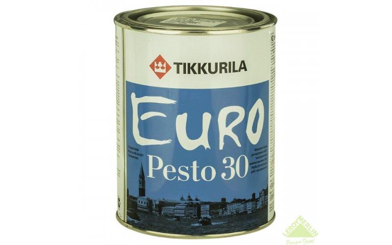 Износостойкая Водоэмульсия для 2,7л всех поверхностей Тиккурила PESTO 30