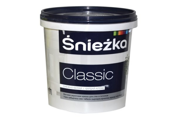 Водоэмульсия Sniezka CLASSIC 10л