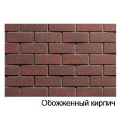 Фасадная плитка обоженный кирпич