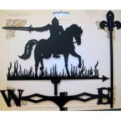 Флюгер большой 500х600 №12 (Рыцарь с мечом)