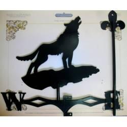 Флюгер большой 500х600 №39 (Волк)