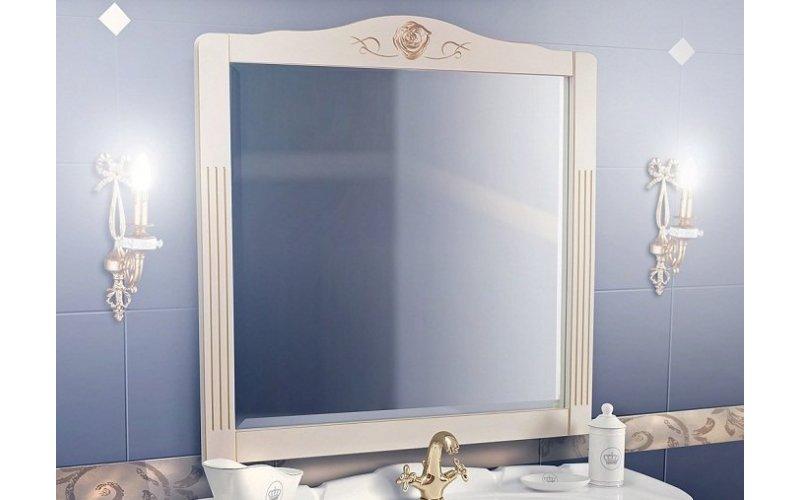 Зеркало Рояль  В 105  (17) слоновая кость