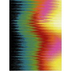 Ковёр  KOLIBRI  FRIZE 11033/180  1,6м х 2,3м  Радужные волны