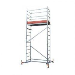Алюминиевая передвижная вышка ClimTec  Высота рабочая =5м