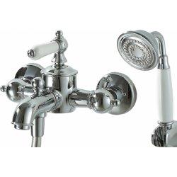 Смеситель для ванны, ПВХ шланг для душа (хром) F675109С-В ART